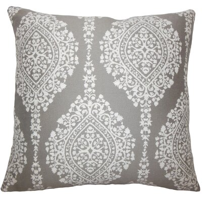 Zanthe Damask Bedding Sham Size: King, Color: Stone