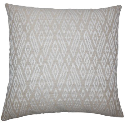 Gaphna Ikat Bedding Sham Color: Jute, Size: King