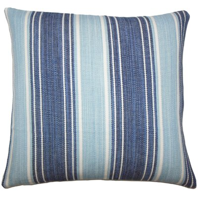 Ferlin Stripe Bedding Sham Size: Euro, Color: Chambray