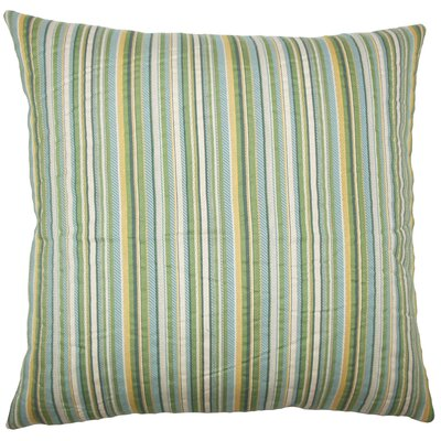 Daube Striped Bedding Sham Size: King, Color: Meadow