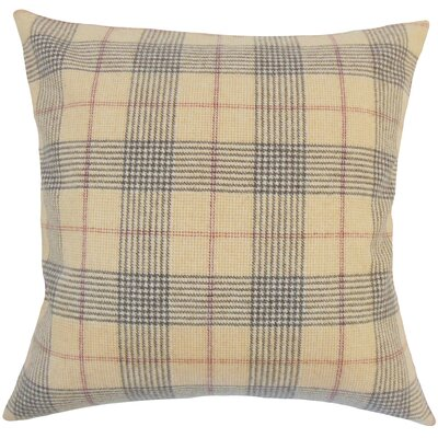 Everly Plaid Bedding Sham Size: Euro