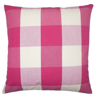 Pyralis Plaid Bedding Sham Size: Euro