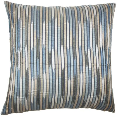 Oceane Striped Bedding Sham Size: Euro