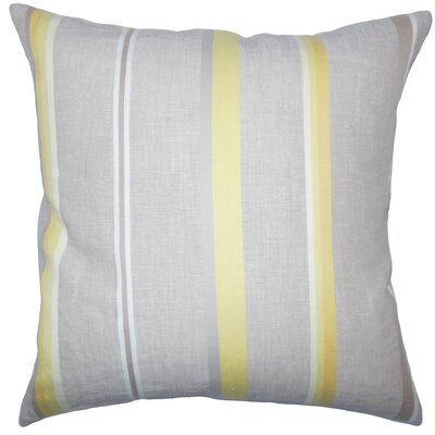 Oormi Striped Bedding Sham Size: Euro