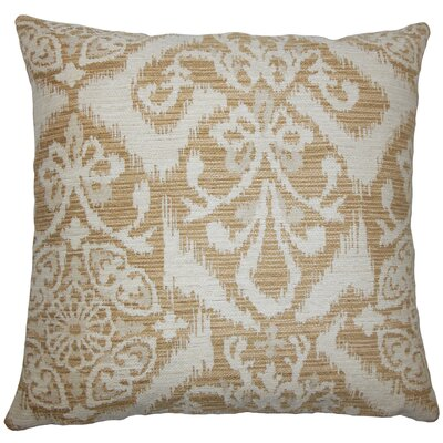 Ingalill Ikat Bedding Sham Size: King, Color: Sandstone