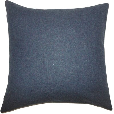 Oisin Solid Bedding Sham Color: Blue, Size: Queen