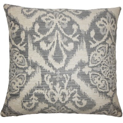 Ingalill Ikat Bedding Sham Size: King, Color: Fog