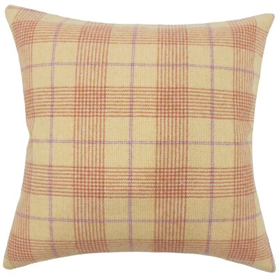 Geraint Plaid Bedding Sham Size: King
