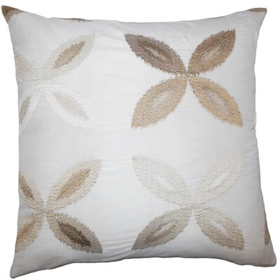 Syshe Ikat Bedding Sham Size: Euro, Color: Natural