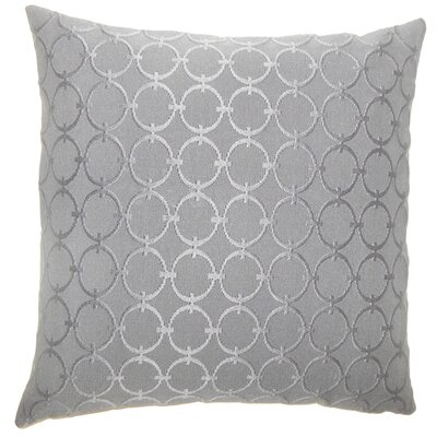 Vadim Geometric Bedding Sham Color: Graphite, Size: Queen