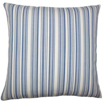 Tafari Striped Bedding Sham Size: King, Color: Blue