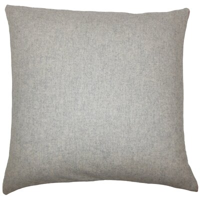 Vella Solid Bedding Sham Size: King, Color: Gray