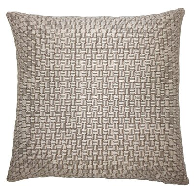 Nahuel Geometric Bedding Sham Size: Euro, Color: Brown