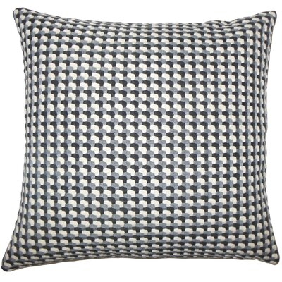 Nadezhda Geometric Bedding Sham Color: Domino, Size: Standard