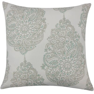 Lanza Damask Bedding Sham Size: Euro, Color: Twill