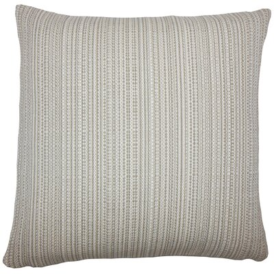 Macall Striped Bedding Sham Size: Euro, Color: Gray