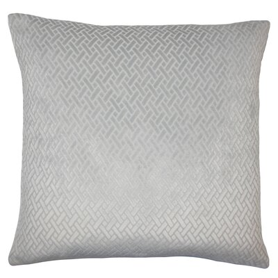 Rizzo Solid Bedding Sham Size: Queen, Color: Grey