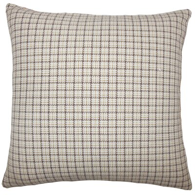 Quora Plaid Bedding Sham Size: Queen, Color: Toffee