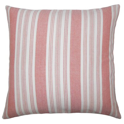 Reiki Striped Bedding Sham Size: King, Color: Spice