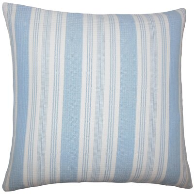 Reiki Striped Bedding Sham Size: Euro, Color: Chambray