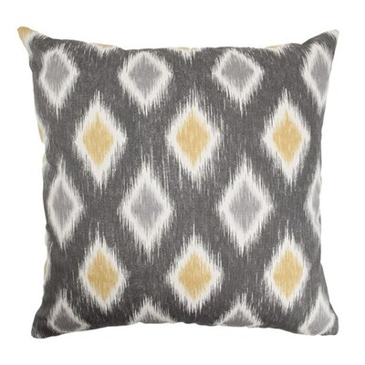 Bowen Geometric Floor Pillow Color: Graphite
