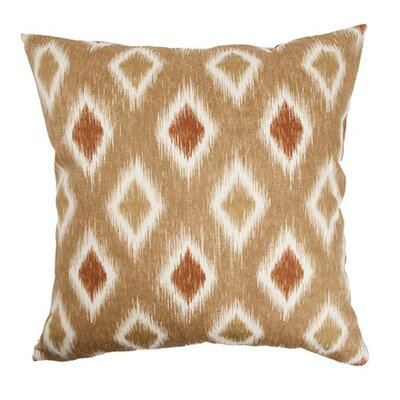 Bowen Geometric Floor Pillow Color: Canyon