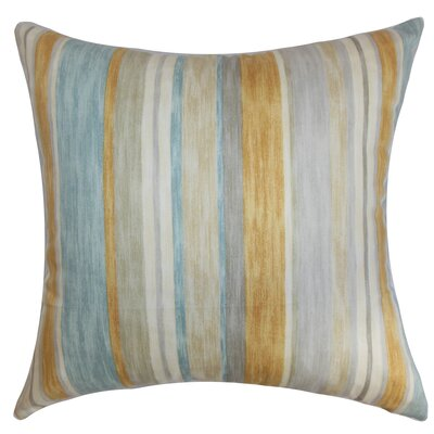 Narkeasha Stripes Bedding Sham Size: Euro