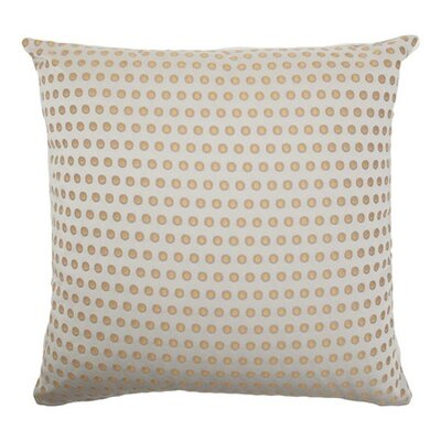 Bunger Dot Floor Pillow Color: LemonIce
