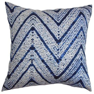Destry Zigzag Bedding Sham Color: Blue, Size: King