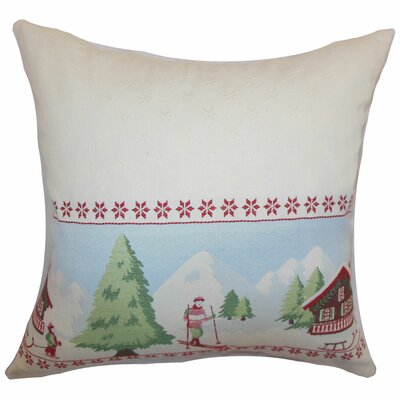 Florina Holiday Bedding Sham Size: Queen