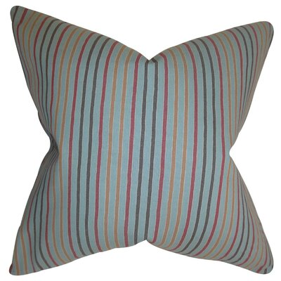Jaylen Stripes Bedding Sham Size: Euro