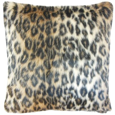 Deloris Faux Fur Bedding Sham Size: Euro