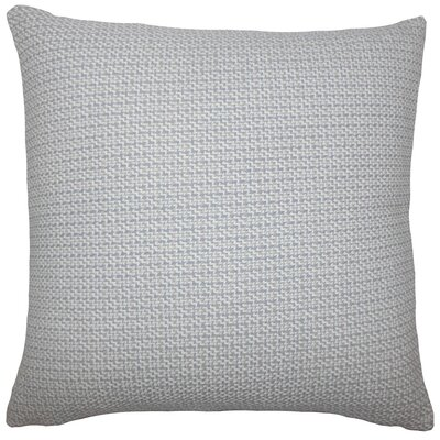 Paley Cotton Throw Pillow Size: 18 H x 18 W x 5 D, Color: Grey
