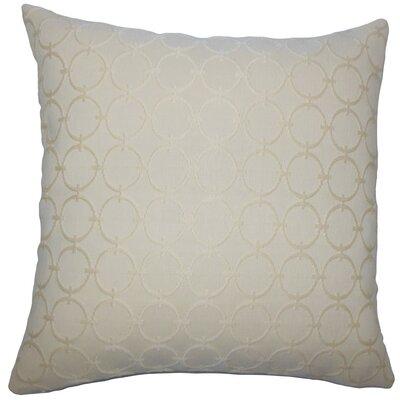Vadim Geometric Throw Pillow Size: 18 H x 18 W x 5 D, Color: Sisal