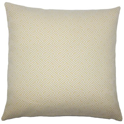 Xiahe Geometric Throw Pillow Size: 20 H x 20 W x 5 D, Color: Sunshine
