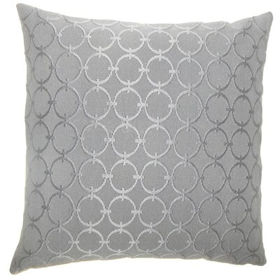 Vadim Geometric Throw Pillow Size: 20 H x 20 W x 5 D, Color: Graphite