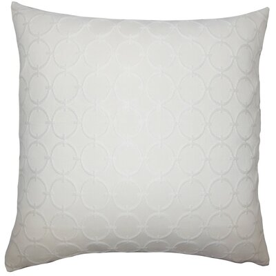 Vadim Geometric Throw Pillow Size: 20 H x 20 W x 5 D, Color: Natural