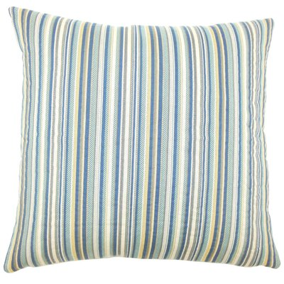 Charnell Striped Throw Pillow Size: 18 H x 18 W x 5 D