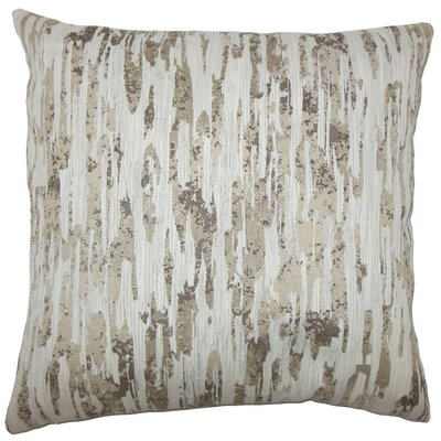 Xanti Graphic Throw Pillow Size: 20 H x 20 W x 5 D, Color: Alabaster