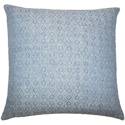 Caitir Geometric Throw Pillow Size: 20 H x 20 W x 5 D, Color: Chambray