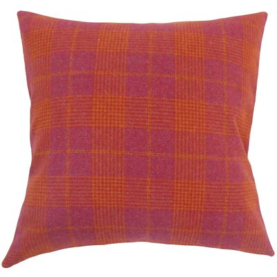 Felician Plaid Wool Throw Pillow Size: 20 H x 20 W x 5 D