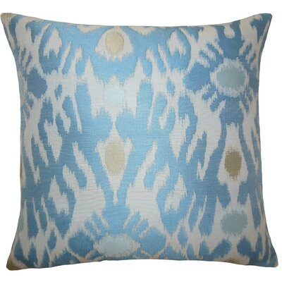 Yagmur Ikat Throw Pillow Size: 20 H x 20 W x 5 D
