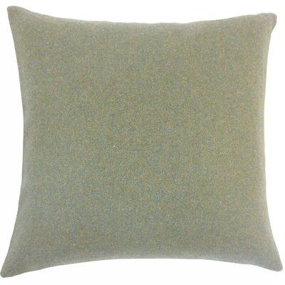 Uyin Solid Wool Throw Pillow Size: 18 H x 18 W x 5 D