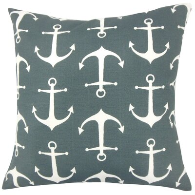 Jitka Coastal Throw Pillow Size: 18 H x 18 W x 5 D