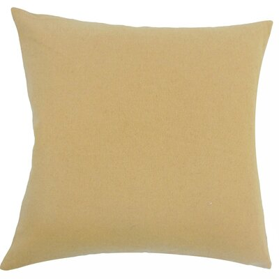Rhory Solid Wool Throw Pillow Size: 20