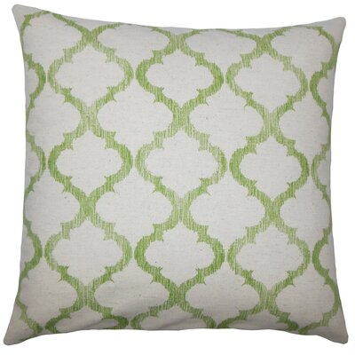 Fortuo Geometric Throw Pillow Size: 20 H x 20 W x 5 D, Color: Palm