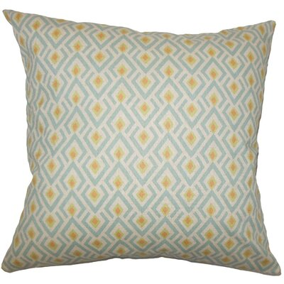 Hardeman Geometric Cotton Throw Pillow Size: 18 H x 18 W x 5 D, Color: Ridgeland