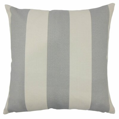 Kanha Striped Throw Pillow Size: 18 H x 18 W x 5 D, Color: Grey Beachwood