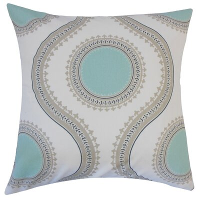 Mantreh Graphic Cotton Throw Pillow Size: 20 H x 20 W x 5 D