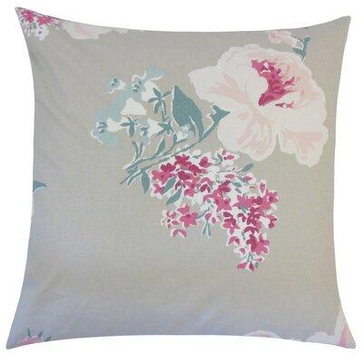Ranya Floral Cotton Throw Pillow Size: 18 H x 18 W x 5 D